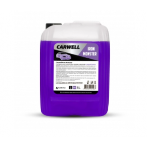 Нейтральный очиститель кузова и дисков с индикатором CARWELL IRON MONSTER (5 л.)