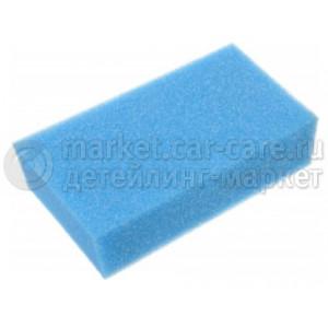 Губка автомобильная 200*120*50мм стандарт (синяя)