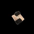 Губка- шпатель на деревянной ручке, комплект 10 шт.