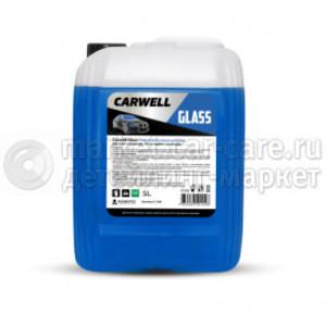 Очиститель стекол и зеркал CARWELL GLASS (5 л.)
