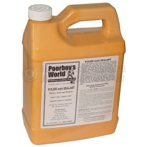 Паста Poorboy's World Polish with Sealant (128oz/3780ml)