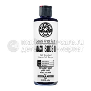 Chemical Guys Ручной шампунь, аромат винограда Maxi-Suds II Car Wash Shampoo 473мл