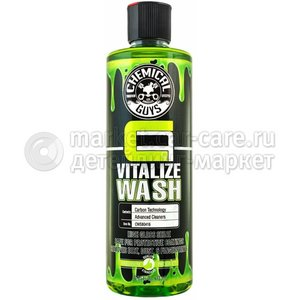 Chemical Guys Ручной шампунь для кварцевых покрытий Carbon Flex Vitalise Wash 473 мл