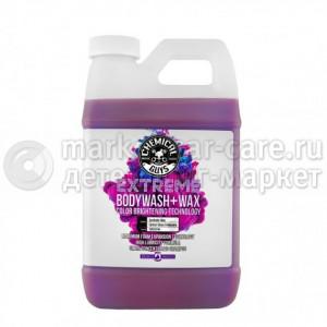 Chemical Guys Шампунь для ручной мойки с воском EXTREME BODY WASH WITH WAX 1.89л.