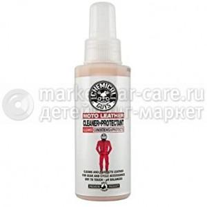 Chemical Guys Очиститель-кондиционер для кожи мотоциклов Moto leather cleaner+protect 118 мл