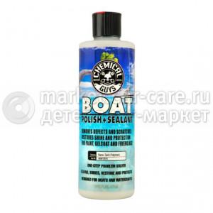 Chemical Guys Полироль и силант для лодок и яхт Boat polish and Sealant 473 мл