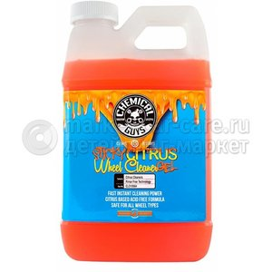 Chemical Guys Цитрусовый гель для очистки колесный дисков Sticky Citrus Gel 3.8 мл
