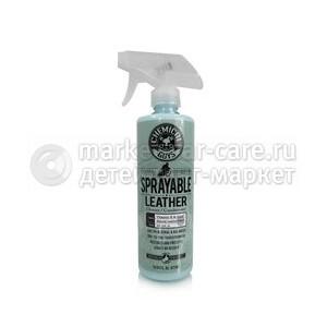 Chemical Guys Спрей-очиститель и кондиционер для кожи (2 в 1) SPRAYABLE LEATHER 473мл.