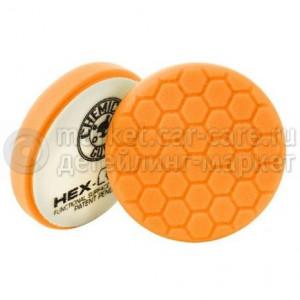 Chemical Guys Полировальный круг «Хекс-Лоджик» оранжевый (10,16 см) Medium-Heavy Cutting Pad