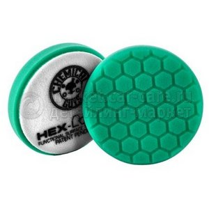 Chemical Guys Полировальный круг «Хекс-Лоджик» бирюзовый (10,16 см) Heavy Polishing Pad