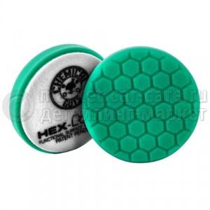 Chemical Guys Полировальный круг Хекс-Лоджик бирюзовый (13,97 см) Heavy Polishing Pad