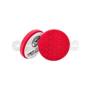 Chemical Guys Хекс-Лоджик полировальный круг красный Red Ultra Light Finishing Pad 13,91 см