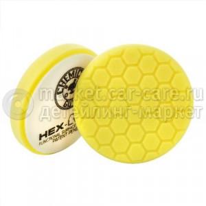 Chemical Guys Полировальный круг Хекс-Лоджик желтый (16,51 см) Heavy Cutting Pad