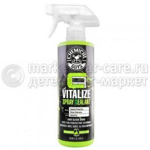 Chemical Guys Спрей-силант для обновления покрытий VITALIZE SPRAY SEALANT 473мл.