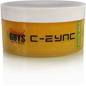 Chemical Guys Премиальный твердый воск E-ZYME Nature 243мл