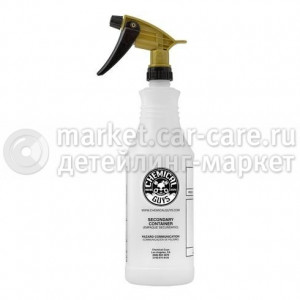 Chemical Guys Профессиональная емкость (бутылка) с золотым триггером Chemical Guys 946мл.