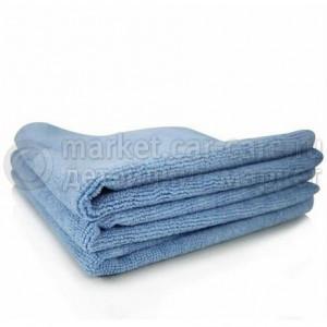 Chemical Guys Плотное голубое микрофибровое полотенце 40х40 см.