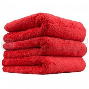 Chemical Guys Ультрамягкое бесшовное микрофибровое полотенце красное 38х38 см.