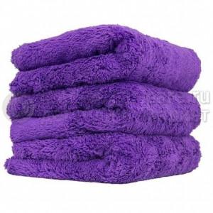 Chemical Guys Ультрамягкое бесшовное микрофибровое полотенце фиолетовое 38х38 см.
