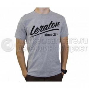 Leraton Футболка LERATON Since 2014 меланж XL