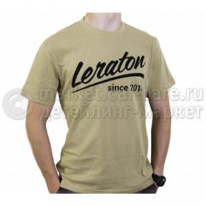 Leraton Футболка LERATON Since 2014 оливковая XL