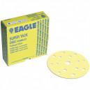P1500 152мм KOVAX Yellow film Микроабразивный круг, с 15 отверстиями 5241500