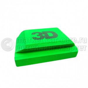 3D Брусок для работы с шлифовальной бумагой Hand block hook system 70x115мм