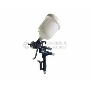Краскопульт c верхним пластиковым бачком HVLP