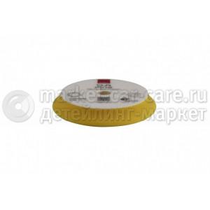 RUPES DA150M Желтый cредней жёсткости поролоновый полировальный диск в упаковке 130/150мм