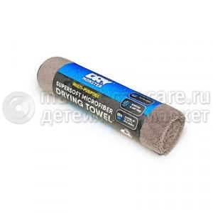 ПолотенцеDry Monster для сушки Drying towel GY 380 (длинный мягкий ворс) 380гр Серая 80x60