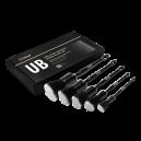 Комплект кистей Detail UB с ультрамягким искусственным ворсом