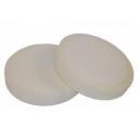 Полировальный круг Vogelchen №8 белый универсальный мягкий, 150*30мм