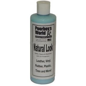 Очистка и защита пластика и кожи Poorboy's World Natural Look (16oz/473ml)