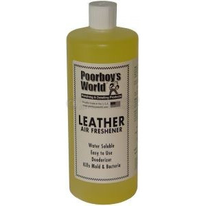Освежитель воздуха Poorboy's World Air Freshener - Leather (32oz/964ml)