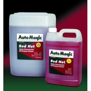 Высококонцентрированный очиститель Auto Magic Special Cleaner Red Hot, 3.79л