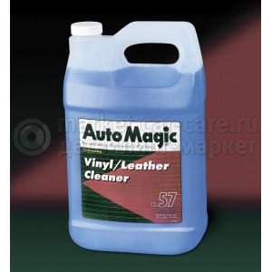 Мягкий очиститель Auto Magic VINYL LEATHER CLEANER, 3.79л