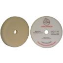 Полировальный круг LakeCountry средней жесткости белый White Foam Variable Contact Polishing Pad, 160мм