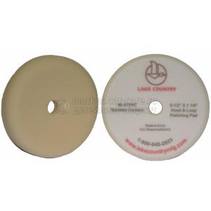 Полировальный круг LakeCountry средней жесткости белый White Foam Variable Contact Polishing Pad, 165мм