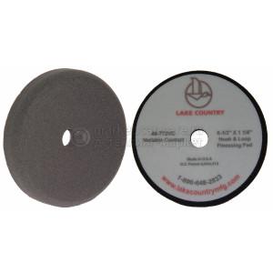 Полировальный круг LakeCountry мягкий черный Black Foam Variable Contact Finessing Pad, 165мм