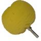 Шарообразная насадка LakeCountry для полировки жесткая желтая, d76mm