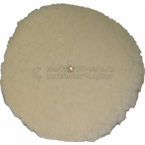Меховой полировальный круг LakeCountry белый 160мм