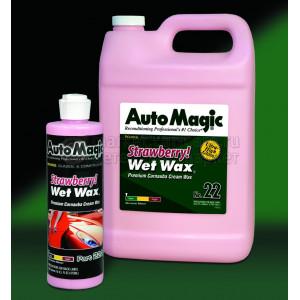 Крем-воск Auto Magic STRAWBERRY WET WAX, 3.79л