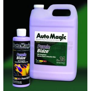 Экспресс-воск Auto Magic PURPLE BLAZE, 3.79л