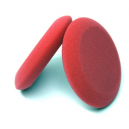 """Красный плотный губчатый аппликатор Auto Magic для нанесения восков,  4"""" ROUND RED FOAM WAX APPL."""