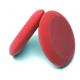 """Красный плотный губчатый аппликатор Auto Magic для нанесения восков,  4"""" ROUND RED FOAM WAX APPL, 110мм"""