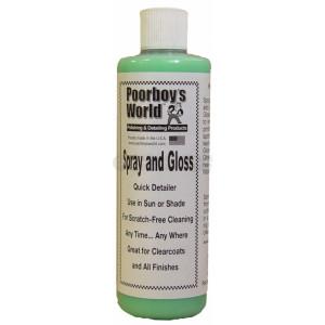 Очиститель Poorboy's World Spray and Gloss (16oz/473ml)