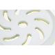 Микрофибровый доводочный полировальный диск RUPES желтый 130/150мм