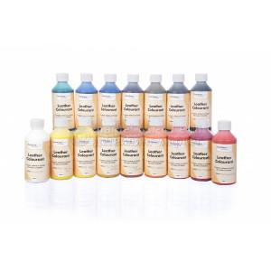 Краска для кожи LeTech Leather Colourant Silver, 250 ml
