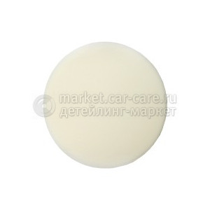 Полировальный диск JetaPro белый (гладкий) жесткий, 150x25мм