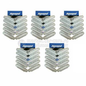 Водоотталкивающее покрытие для стекол (антидождь) Aquapel (Аквапель), упаковка 50 штук (50-Pack)